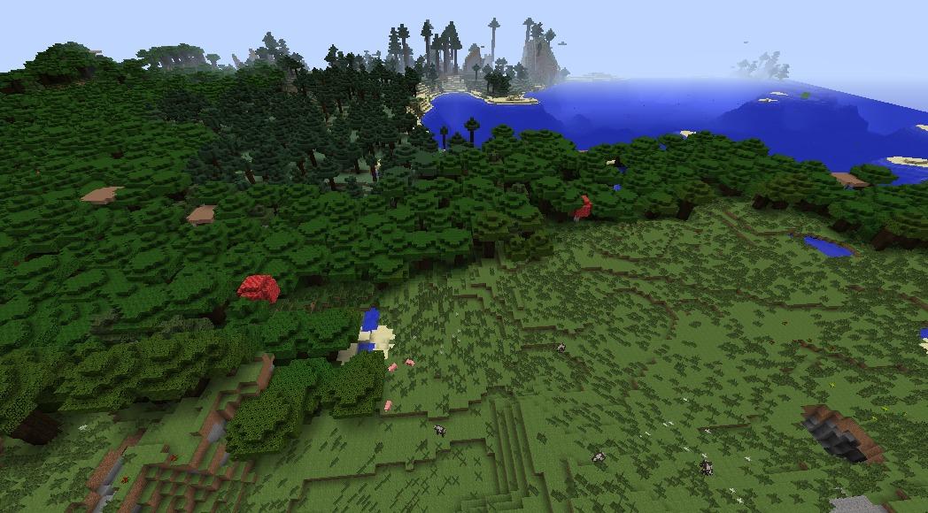 Minecraft seed finder